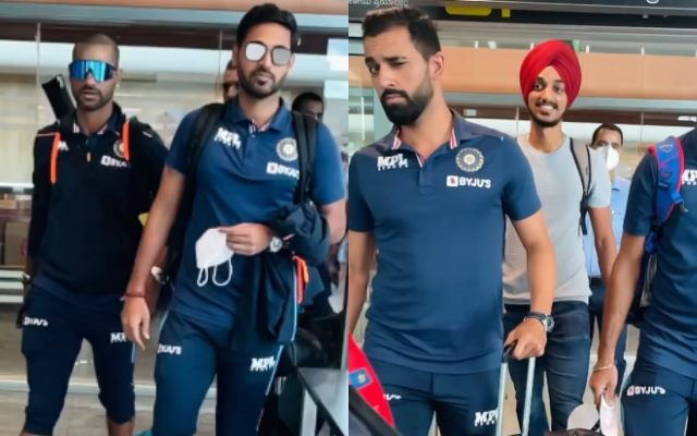 दीपक चाहर ने डैपर वीडियो शेयर किया क्योंकि भारतीय खिलाड़ी श्रीलंका श्रृंखला के बाद घर से बाहर निकलते हैं