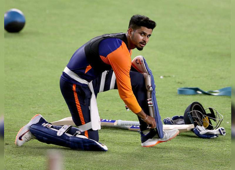 फिर से फिट श्रेयस अय्यर दुबई पहुंचे, डीसी दस्ते की जांच से पहले अकेले प्रशिक्षण लेंगे |  क्रिकेट खबर