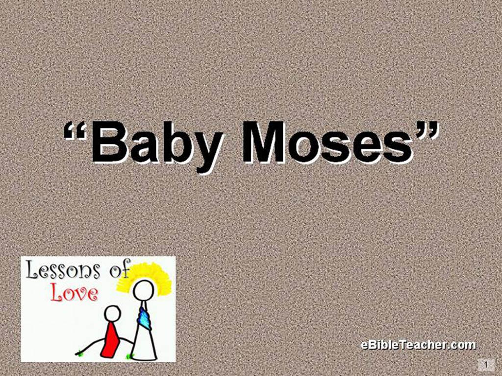 Baby Moses Flip Chart