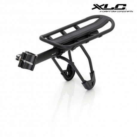 xlc bike rack 10kg for seatpost bike rack attached on seatpost up to 10kg maximum load