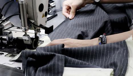 国内縫製へのこだわり