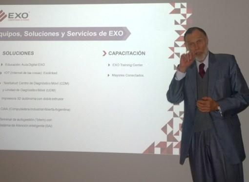 EXO presentó su oferta actualizada de productos y servicios