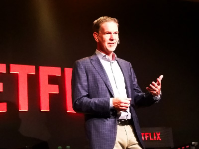 Reed Hastings pasó por Argentina