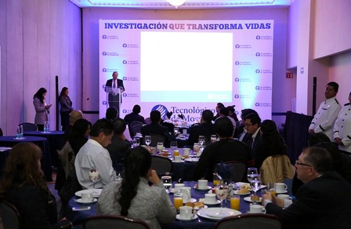Científicos e investigadores del Tec presentan proyectos que están cambiando vidas en México