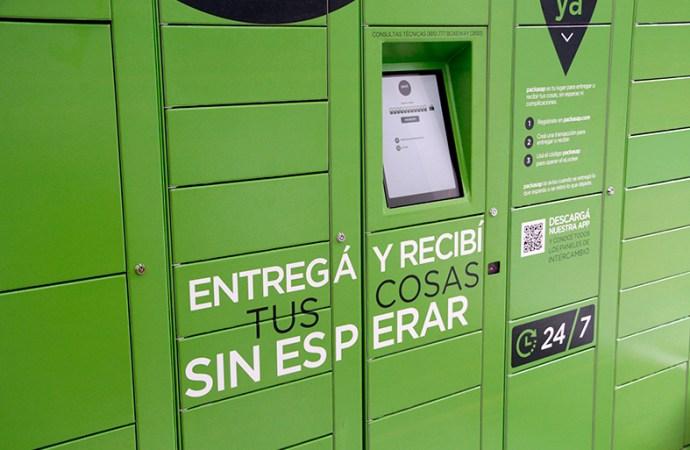 Puntos automáticos de intercambio para empresas y personas