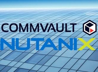 Commvault y Nutanix extienden su sociedad estratégica con soluciones de protección de datos