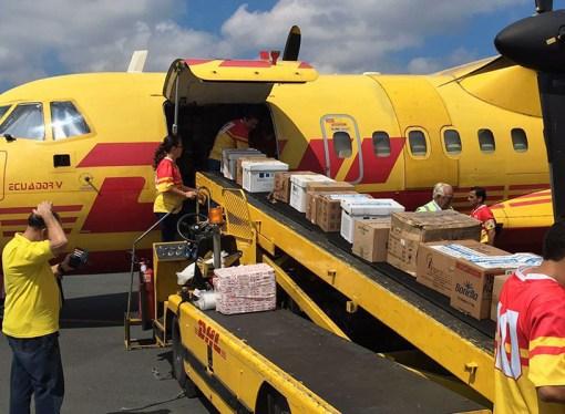 DHL activa su equipo de respuesta ante desastres en Ecuador