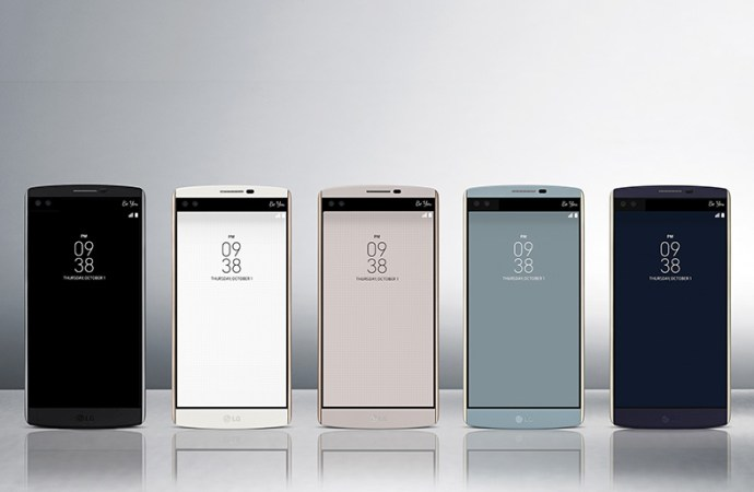 LG presentó V10