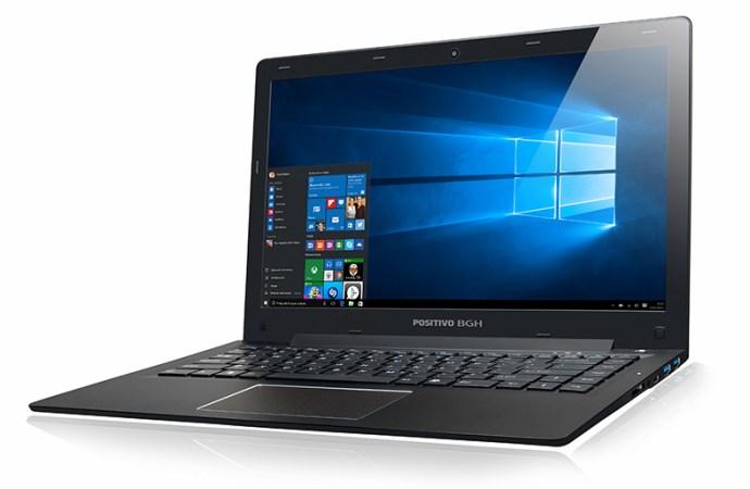 Positivo BGH presentó su primera notebook Intel Core M en Argentina