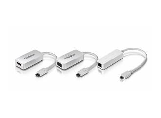 TRENDnet lanzó una nueva línea de adaptadores USB-C