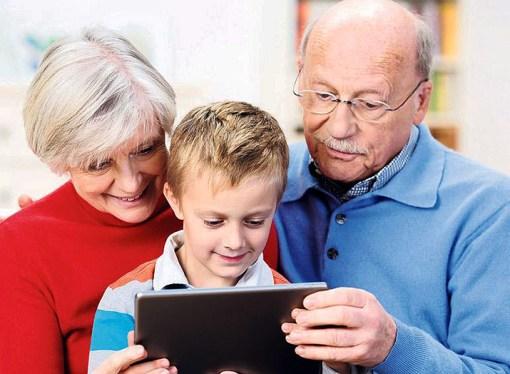 Tablets y abuelos