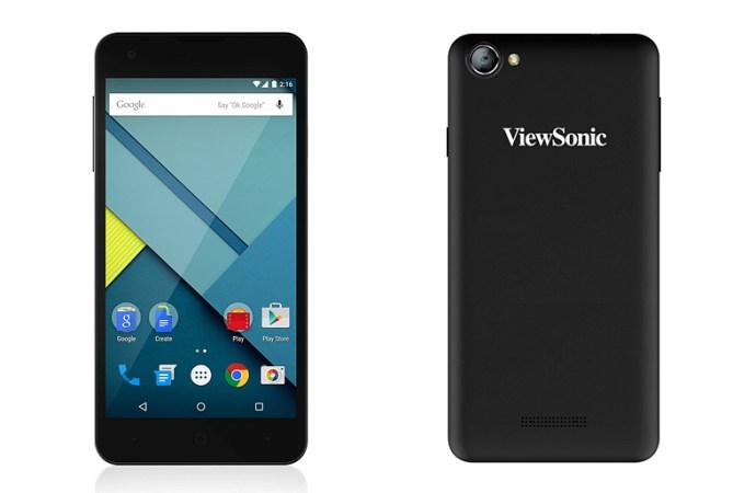 Viewsonic lanzó en Argentina su primer smartphone