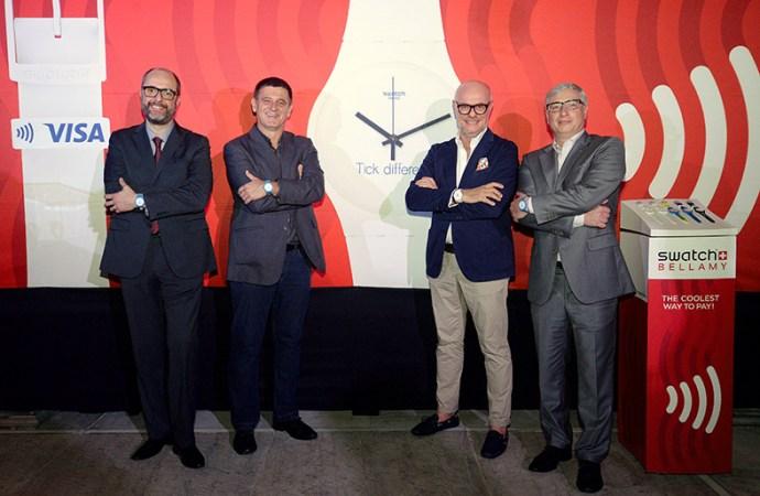 Swatch lanzó oficialmente en Brasil su reloj para realizar pagos sin contacto