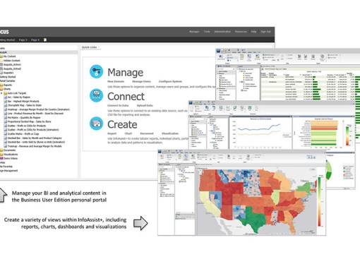 Information Builders lanzó web FOCUS Business User Edition