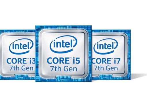 Intel presentó la 7ª generación de procesadores Core