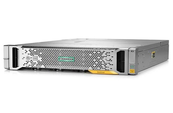 HPE aporta capacidades de gama alta al almacenamiento de nivel de entrada