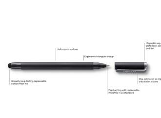 Wacom presentó su nueva familia de lápices digitales Stylus