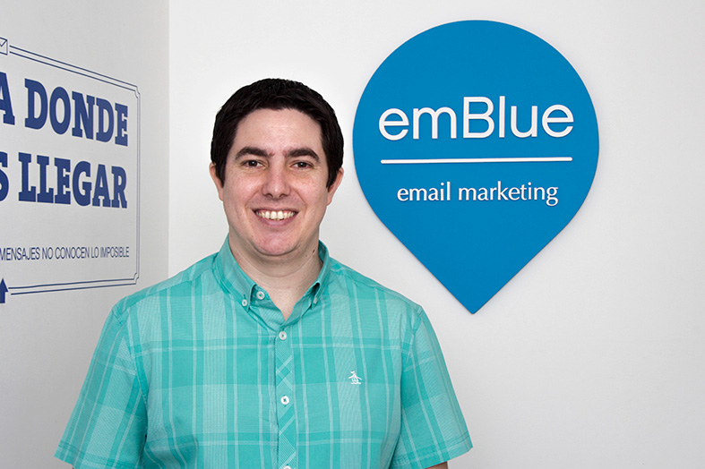 Gonzalo Gil Juncal es el nuevo Regional Digital Marketing Manager de emBlue
