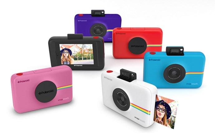 Polaroid presentó su cámara digital instantánea Snap Touch
