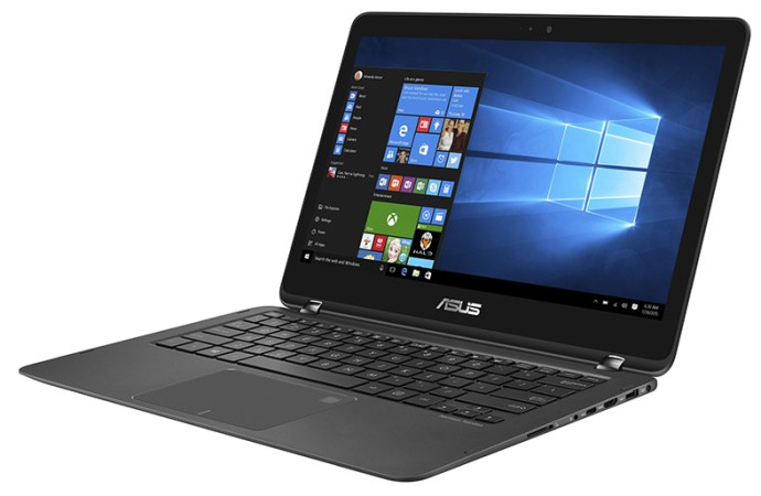 ASUS lanzó Zenbook Flip UX360