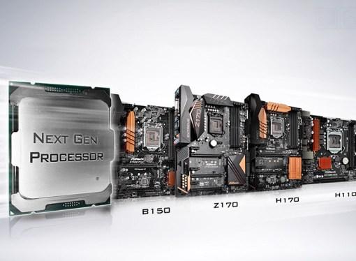 ASRock presentó sus motherboards serie 100
