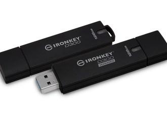 Kingston lanzó dos unidades flash USB encriptadas IronKey