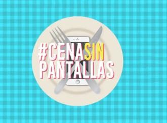 Chicos.net promueve la campaña Cena Sin Pantallas