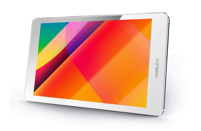 Noblex presentó su nueva tablet T8A2I