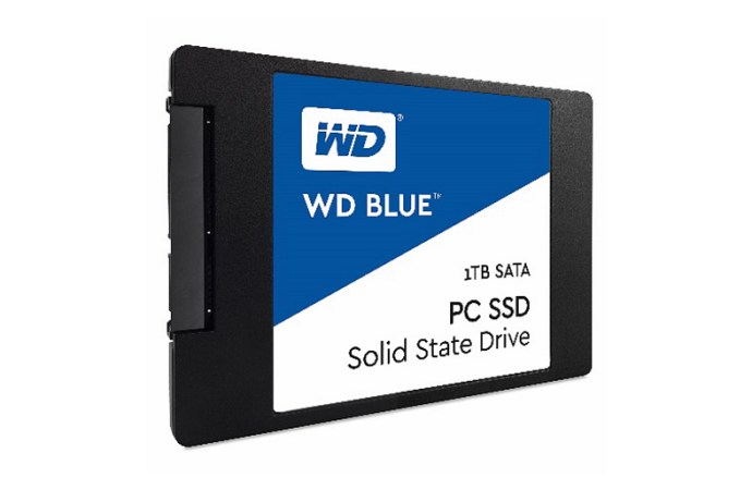 Western Digital presentó sus SSD Blue y Green