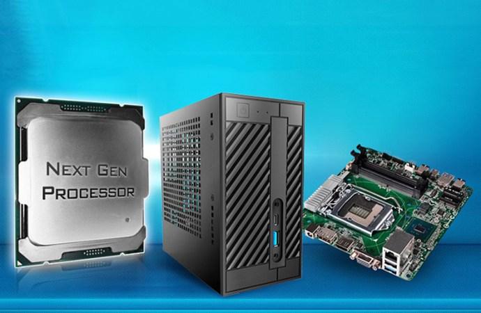 DeskMini 110 y H110M-STX son compatibles con nuevos procesadores Intel