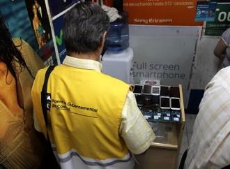 Secuestran celulares robados en Buenos Aires