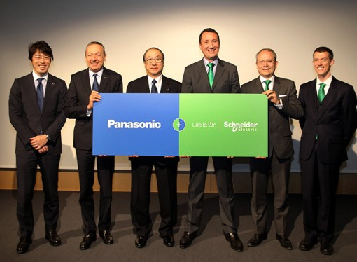Schneider Electric se asocia con Panasonic