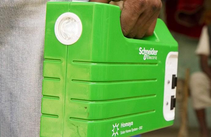 Schneider Electric presentó Homaya