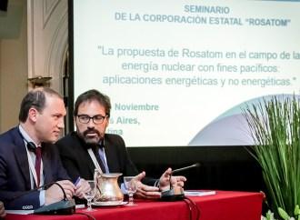 Rosatom presentó tecnologías nucleares de vanguardia en Argentina