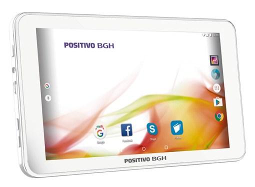 Positivo BGH renueva su línea de tablets