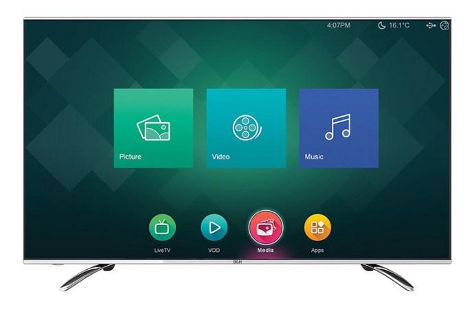"""BGH presentó su nueva smart TV de 40"""""""