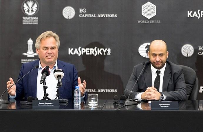 Kaspersky Lab se une a la FIDE y al Campeonato Mundial de Ajedrez