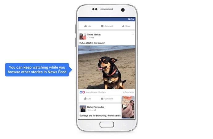 Nuevas formas de ver videos en Facebook