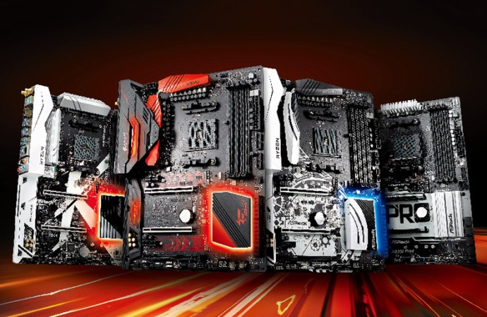 ASRock lanzó sus motherboards AMD Ryzen