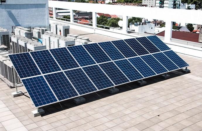 EXO presentó su sistema de energía solar