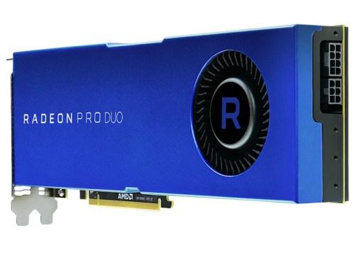 AMD lanzó la nueva Radeon Pro Duo