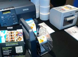 Epson presentó las nuevas impresoras de etiquetas Colorworks