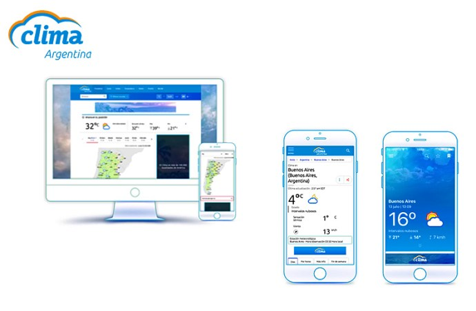 Pelmorex Weather Networks lanzó CLIMA Argentina