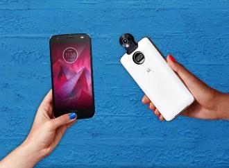 Motorola lanzó Moto Z2 Force y 360 Cámara Moto Mod