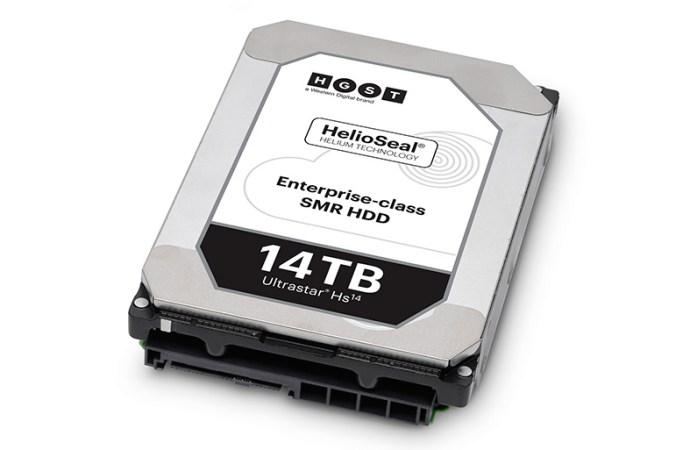Western Digital lanzó los primeros discos duros empresariales de 14 TB del mundo
