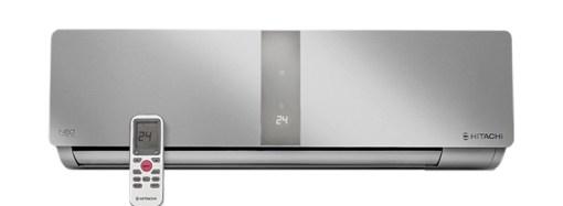 Hitachi presentó una línea de aires split de alta eficiencia y bajo consumo