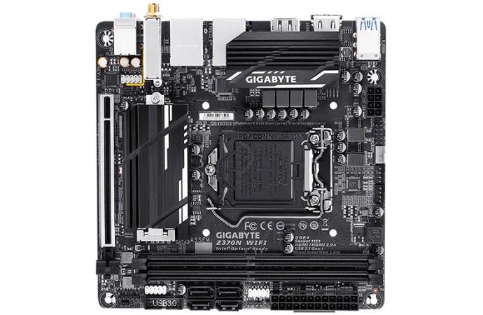GIGABYTE presentó la Motherboard Z370N WiFi