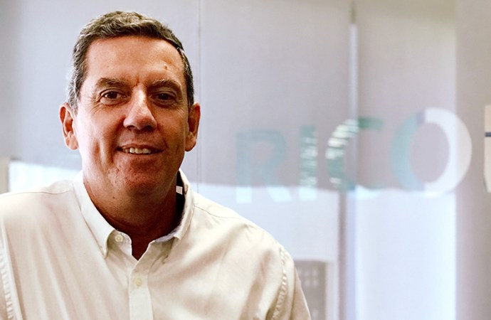 Santiago Hermida Pini, gerente Comercial de Verticales de Salud y Educación en Ricoh Argentina