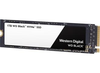 Western Digital presentó una nueva unidad SSD para videojuegos con NVMe
