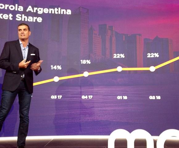 Germán Greco, gerente General Motorola Argentina